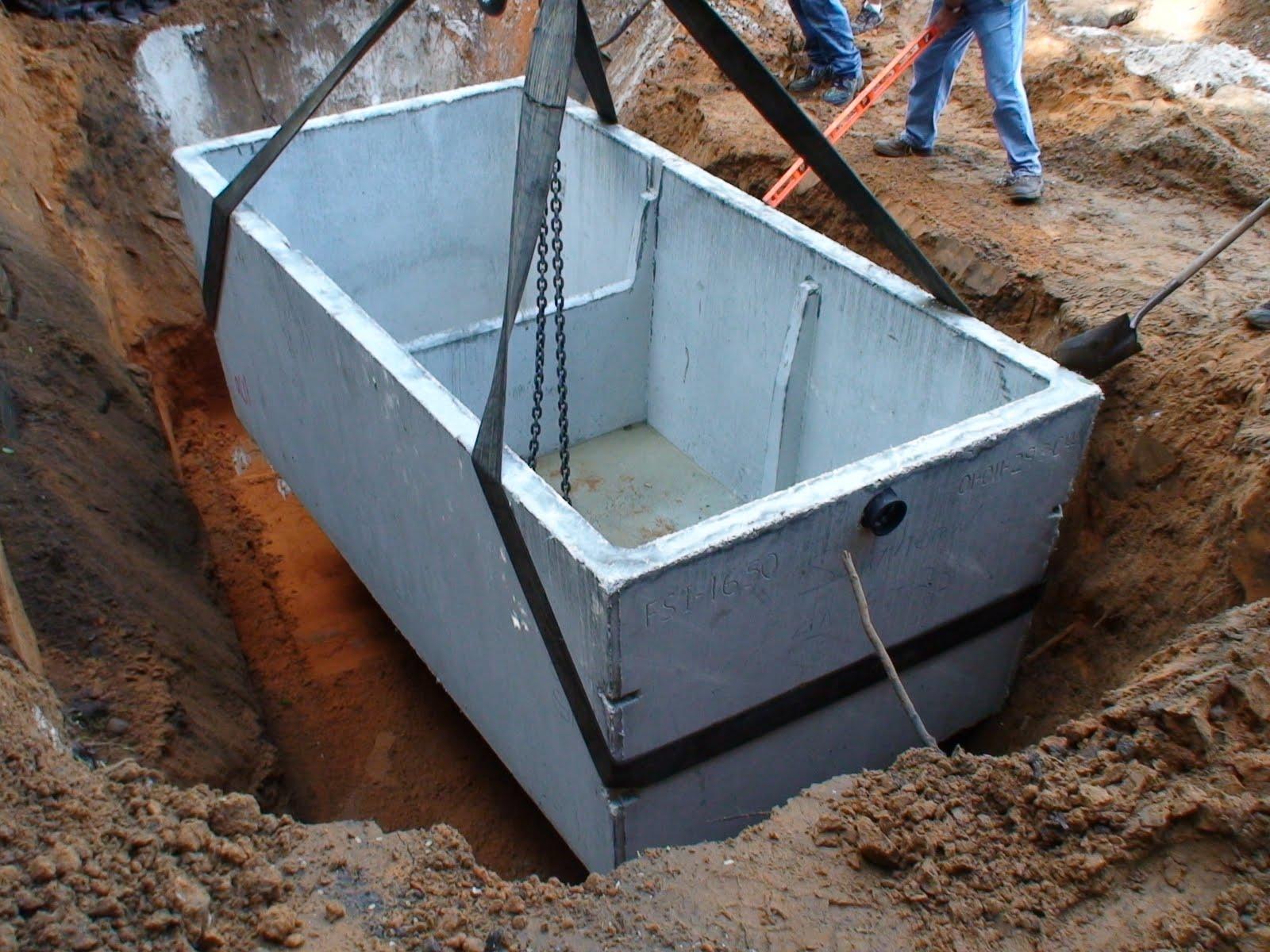 Строительство септика своими руками из бетонных к 824